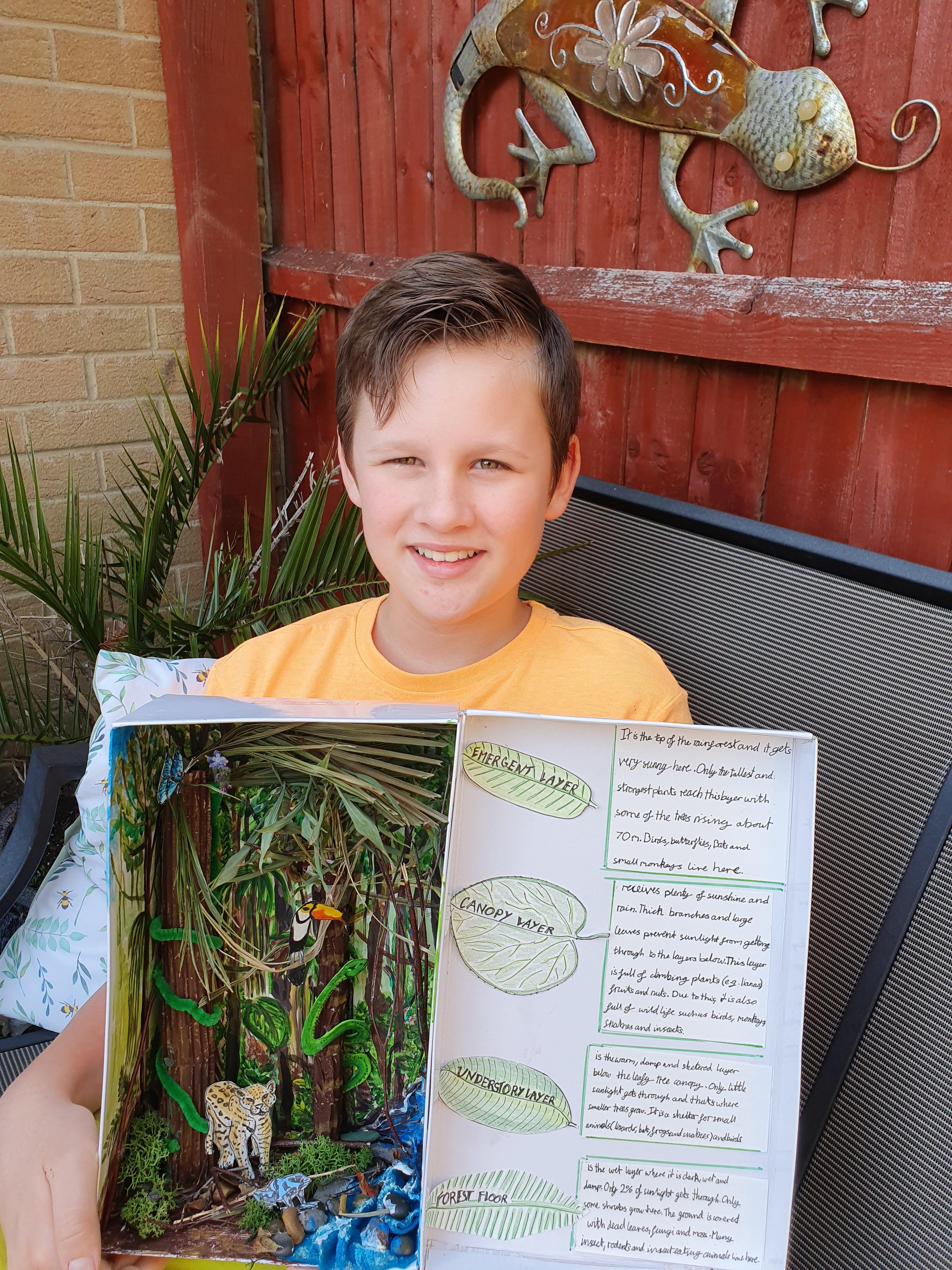 Sebastian Bada's Rainforest in a Box Plant Your Future