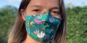 How to make a rainforest mask