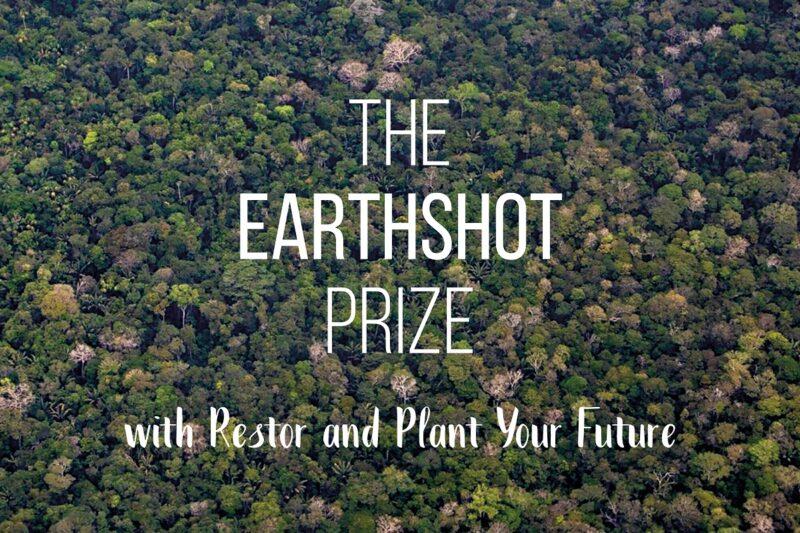 New scientific data platform for restoration is named Earthshot Prize finalist